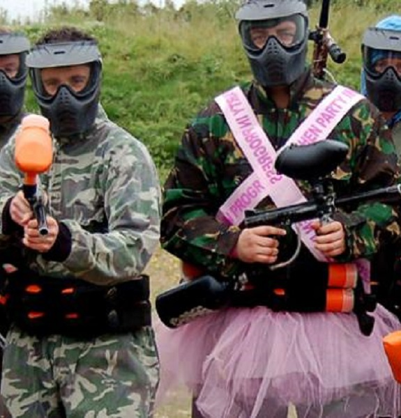 Paintballing   Stag 1